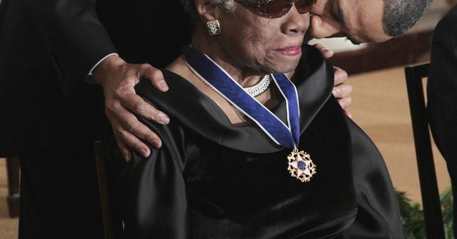 Obama mourns death of poet, author Maya Angelou