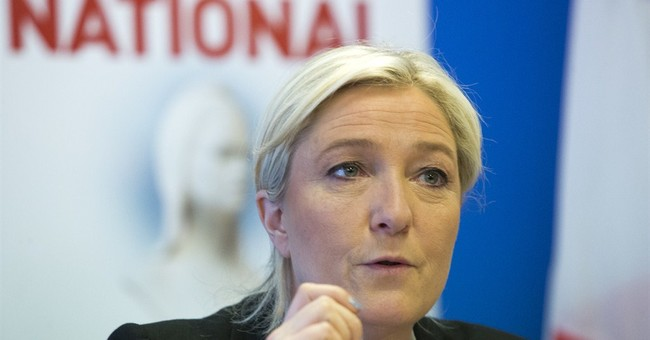 France's Le Pen still searching for EU allies