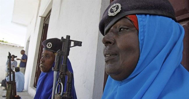 Female soldiers join the army ranks in Somalia
