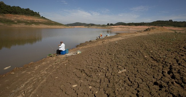 Drought headaches in Brazil's WCup opener city