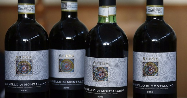 Italian police seize falsely labeled wine bottles