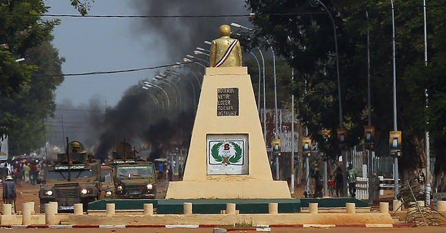 C. African Republic city tense after church attack