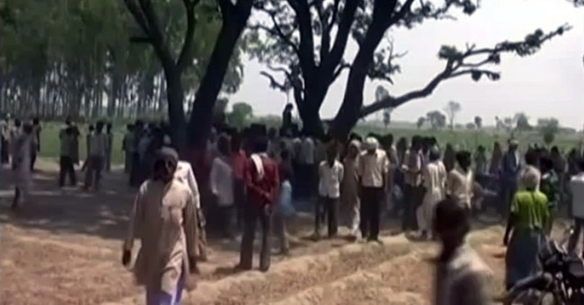 Village protests rape, killings of Indian sisters