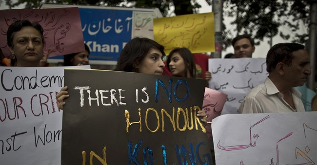Pakistan arrests 4 suspects in woman's stoning