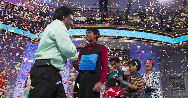 A 1st in 52 years: Co-champs at the Spelling Bee