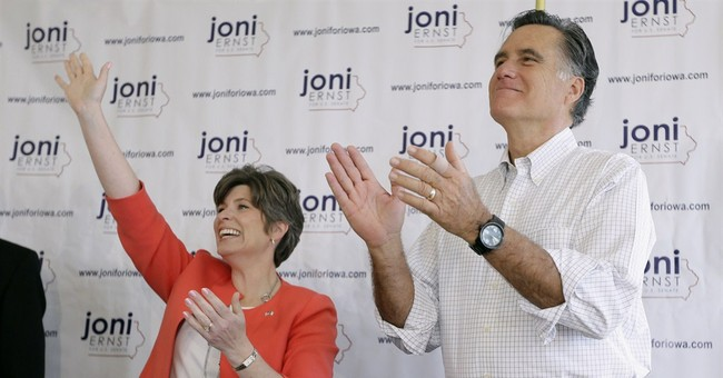 Romney returns to Iowa to campaign for Ernst