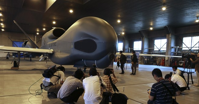 US deploys first advanced drones to Japan
