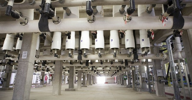 Israel solves water woes with desalination