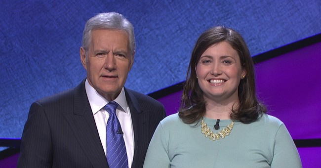 Julia Collins wins 20th victory on 'Jeopardy!'
