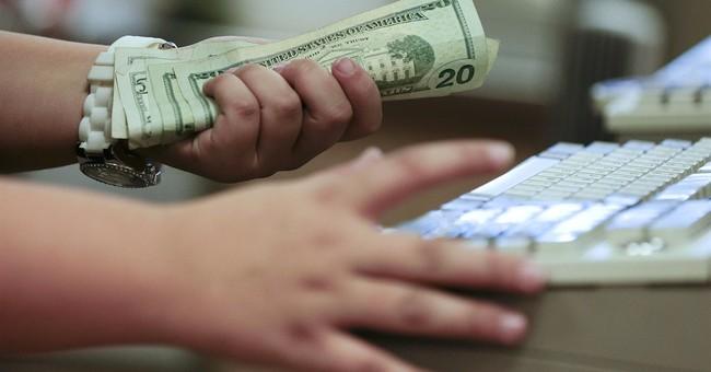 US consumer spending down 0.1 percent in April