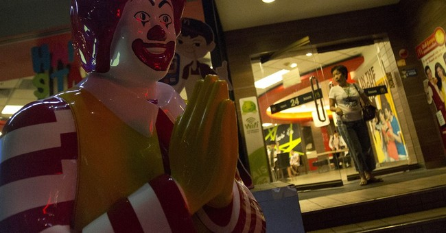 McDonald's to Thais: No arches in protest signs