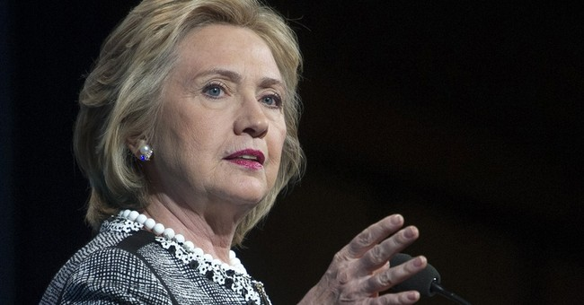Hillary Clinton makes brief appearance at BookExpo