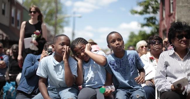 Rundown Philadelphia row home honored with funeral
