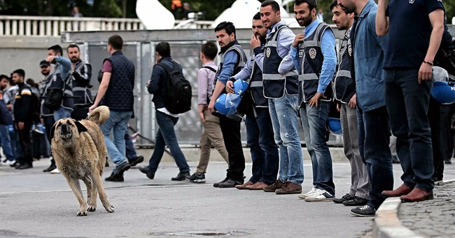 Turkish police crackdown on protesters