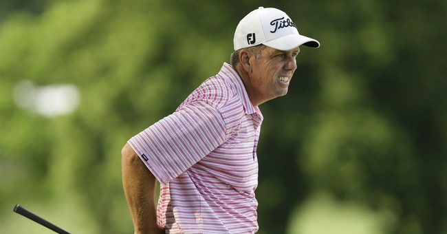 Doug Garwood leads Principal Charity Classic