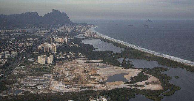 Work on Olympic golf course could be halted