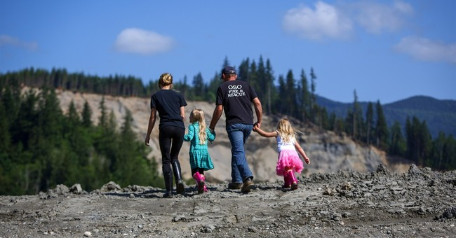 A symbolic step after deadly Washington mudslide