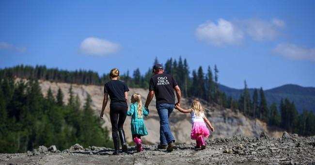A symbolic step after deadly Washington mudslide