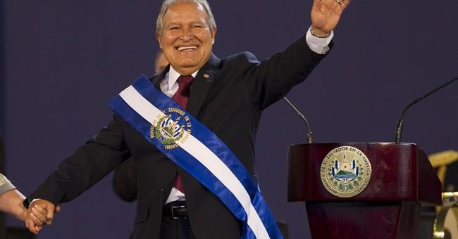 Ex-guerrilla sworn in as El Salvador's president