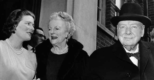 Winston Churchill's daughter Mary Soames dies