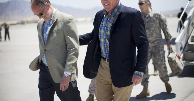Hagel meets with team that rescued Bergdahl