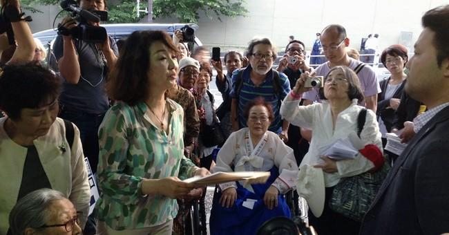 Ex-sex slaves demand Japan PM acknowledge past