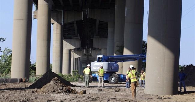 Del. closes I-495 bridge because of column tilt