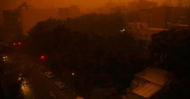 Dust storm roars into Iran, killing at least 4