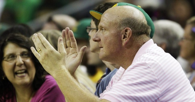 Ballmer brings cheer, competitiveness to Clippers
