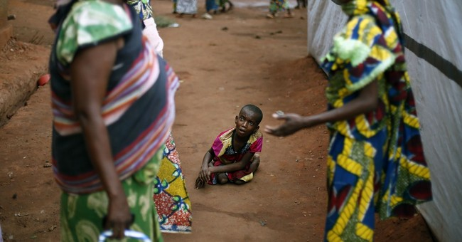Girl left in forest in C. African Republic chaos