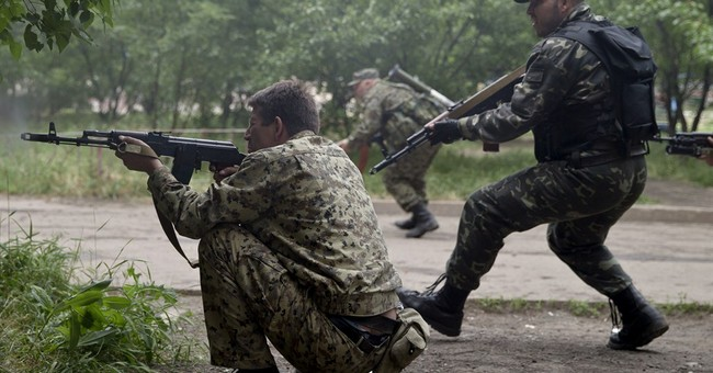 Pro-Russia rebels attack Ukrainian border guards