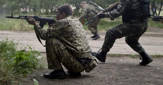 Pro-Russia rebels attack Ukrainian border guards