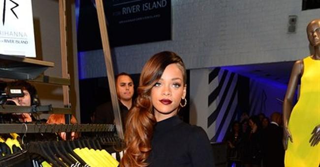 AP PHOTOS: A look at Rihanna's fashion and style