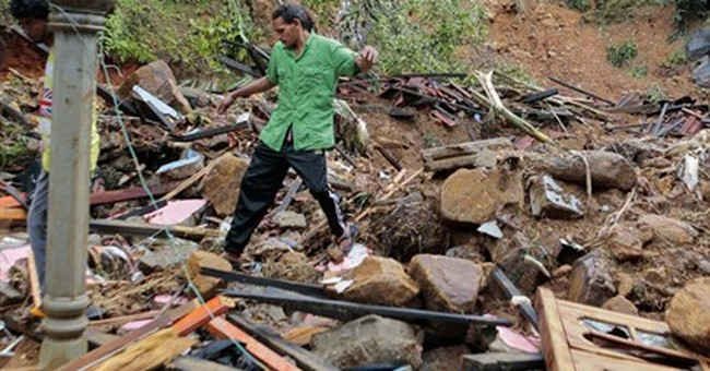 Floods, mudslides kill 22 in Sri Lanka