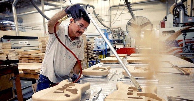 US factory orders up for third month in April
