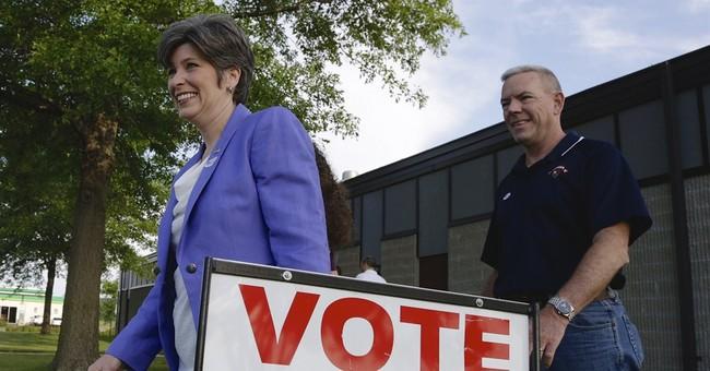 Ernst wins Iowa Republican primary for US Senate