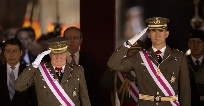 Spain PM, cabinet approve king abdication plan