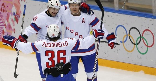 Zuccarello making name for Norwegian hockey in NHL