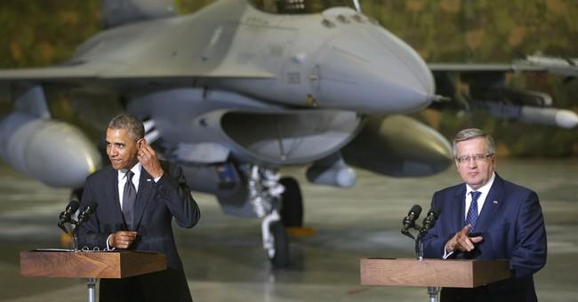 Obama boosting America's military effort in Europe