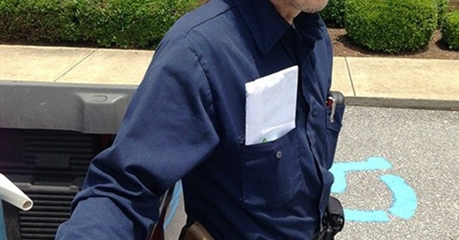 Ala. man told to store loaded gun before voting
