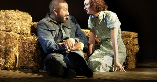 Chris O'Dowd puts his body on the line on Broadway