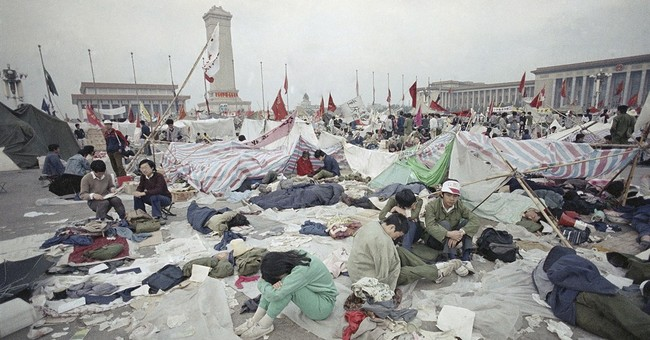 AP PHOTOS: Images of Tiananmen in 1989 and now
