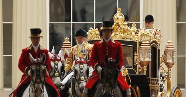 Queen Elizabeth II unveils British gov't plan