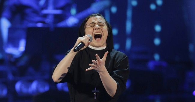 Singing nun in finals of Italy's TV talent show