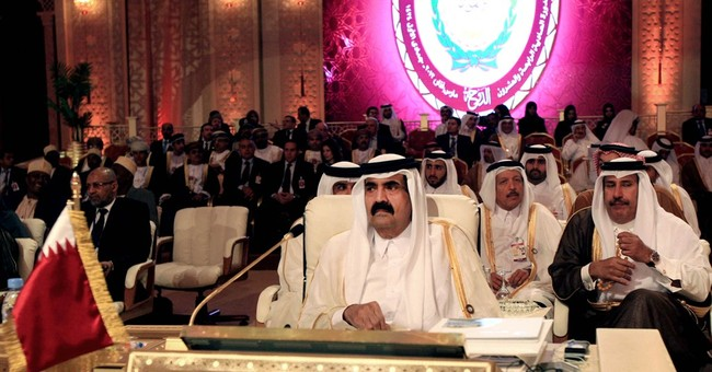 Tiny Qatar stands to benefit from go-between role