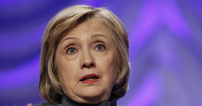 Clinton: US needs to break 'glass ceiling' at top