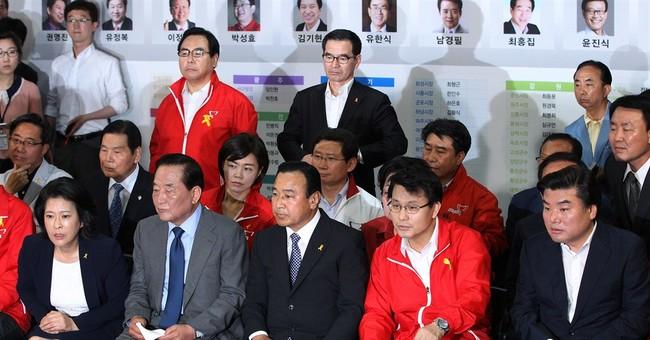 Ruling party, rival split S. Korean vote