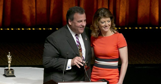 Chris Christie receives Father of the Year award