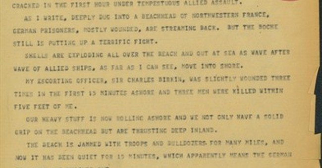 AP WAS THERE: Hitler's Atlantic wall under assault