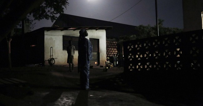 AP PHOTOS: Muslims at C. African Republic church
